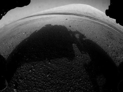 Curiosity'den ilk görüntüler geldi