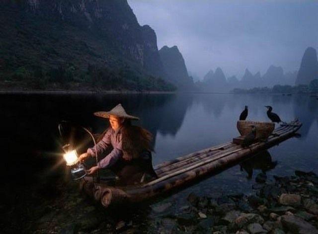 Karabatakla inanılmaz balık avı!