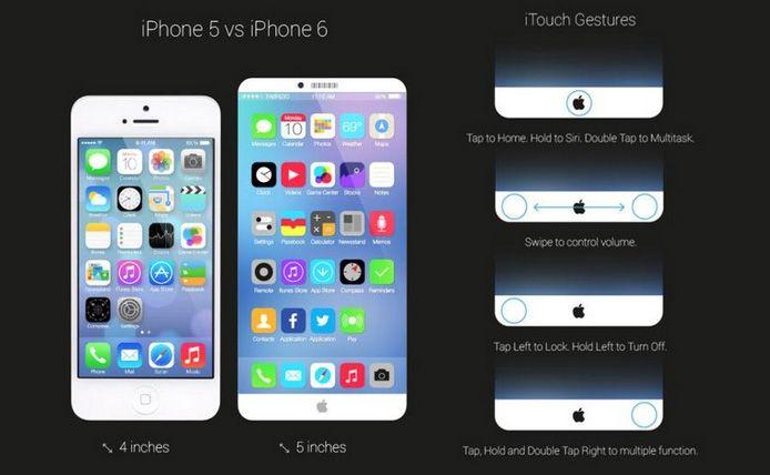 iPhone 6'ya dair yeni iddialar