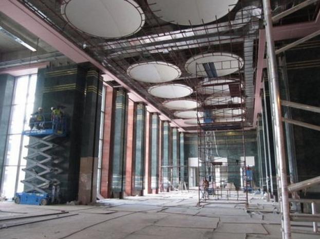 Yeni Başbakanlık binasından görüntüler ortaya çıktı