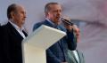 Cumhurbaşkanı adayı ve Başbakan Erdoğan seçim sonrası konuştu