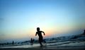 Gazzeliler sahile akın etti