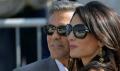 George Clooney'nin düğünününden kareler