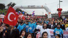 36. Vodafone İstanbul Maratonu'ndan görüntüler