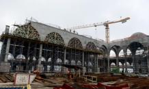 Çamlıca Camii'nde sona doğru yaklaşılıyor