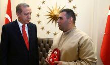 Cumhurbaşkanı Erdoğan'a şehitlik toprağı