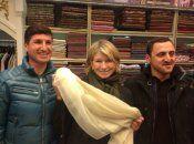 Martha Stewart'tan İstanbul'da Bond pozu