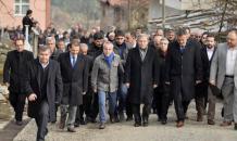 Mehmet Ali Şahin'in eşinin cenaze töreni