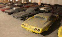 Unutulmuş milyon dolarlık otomobiller