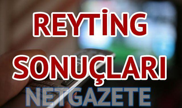 Reyting Sonuçları 23 Mart Pazartesi reyting sonuçları (Paramparça mı Karadayı mı?)