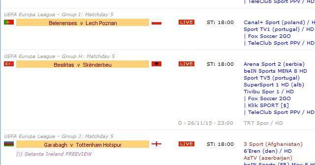 Beşiktaş Skenderbeu maçı Avrupa kanalında şifresiz izle!