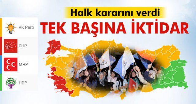 Dördüncü AK Parti dönemi!