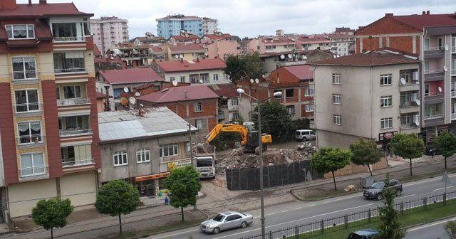 Ordu'da 205 bina yıkıldı
