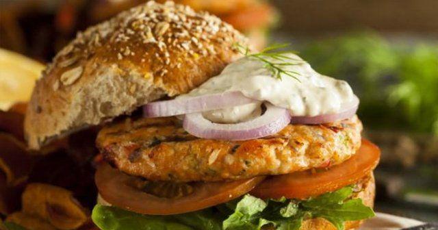 Et Yemeyenlere, Somon Burger