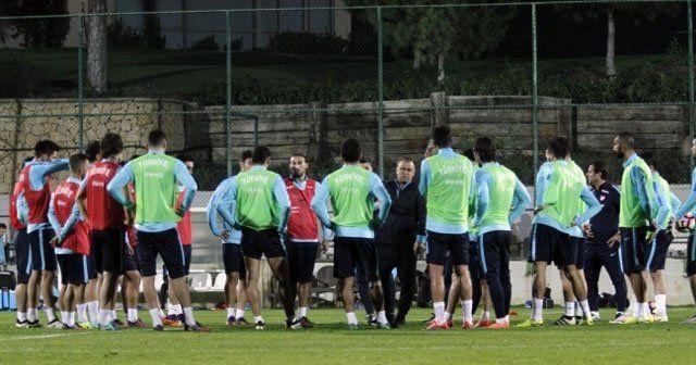 A Milli Takım, Kosova maçı hazırlıklarını sürdürdü
