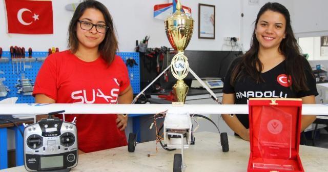 İnsansız hava araçlarına kadın eli değdi