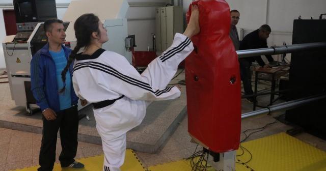Türkiye'nin ilk milli ve yerli antrenman robotu