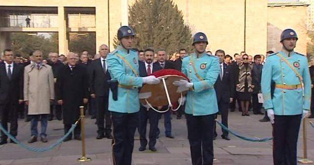 Atatürk TBMM'de düzenlenen törenle anıldı