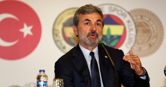 """Fenerbahçe'den """"Aykut Kocaman"""" açıklaması"""