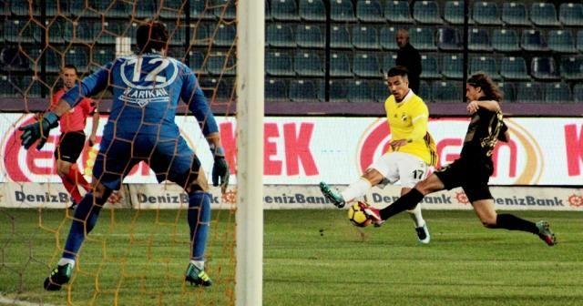 İlk yarıda tek gol