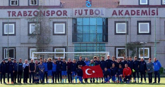 Trabzonspor, Gazi Mustafa Kemal Atatürk'ü andı