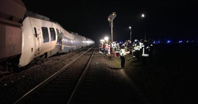 Almanya'da trenler çarpıştı: 41 yaralı