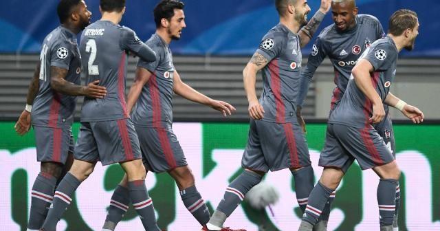 Beşiktaş ilk yarıyı galip kapattı
