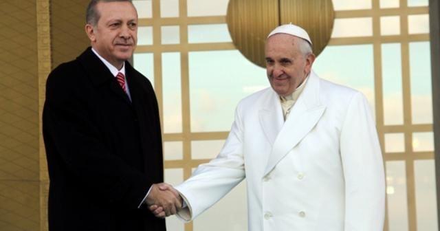 Cumhurbaşkanı Erdoğan ve Papa Kudüs'ü konuştu