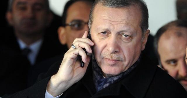 Erdoğna Abbas ile telefonla görüştü