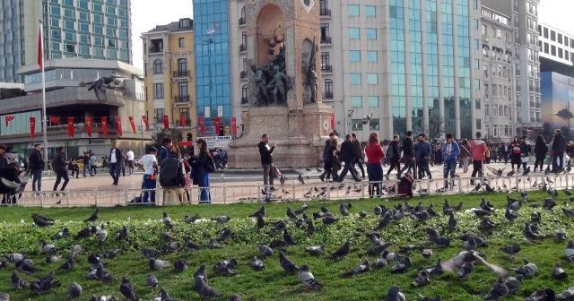 İstanbullular, yazdan kalma bir gün yaşadı