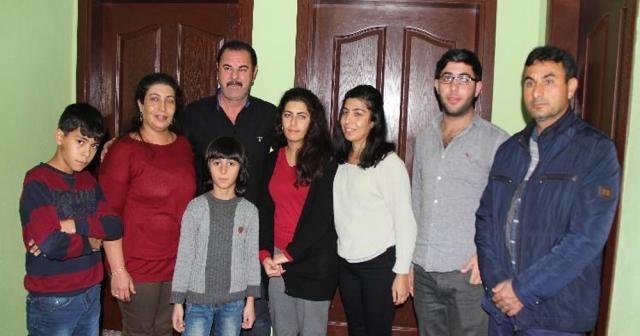 Kurtarılan Zelal Topçul ailesine kavuştu