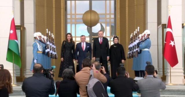 Ürdün Kralı Abdullah Ankara'da