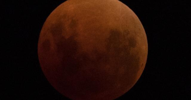 Süper Kanlı Mavi Ay Tutulması başladı