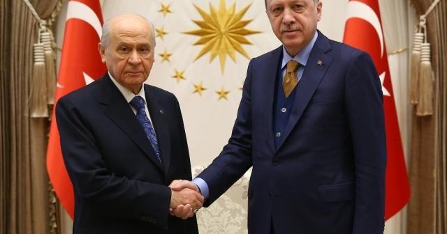 AK Parti MHP arasındaki ittifak çalışmaları tamamlandı