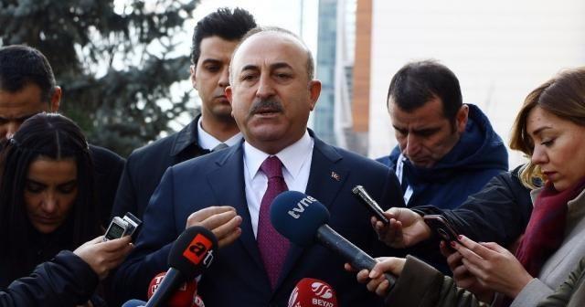 Bakan Çavuşoğlu, Zeytin Dalı Harekatı'nın önemine vurgu yaptı