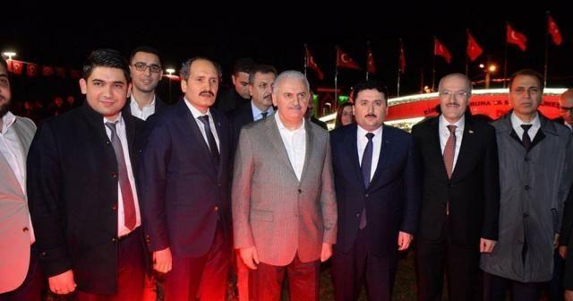 Başbakan Yıldırım, 15 Temmuz Şehitler Anıtı'nı ziyaret etti