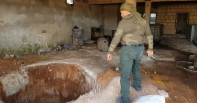 Burseya Dağı'ndaki hendekler temizleniyor