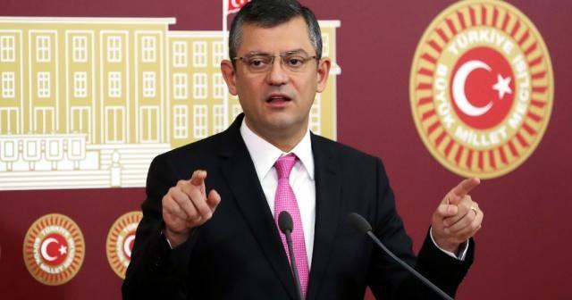 CHP'li Özel'den KHK açıklaması