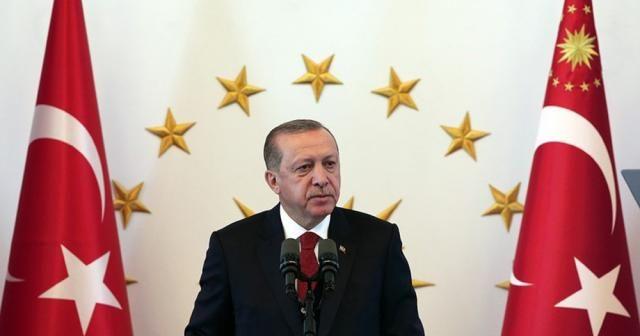 Cumhurbaşkanı Erdoğan, TBMM Başkanı Kahramanı kabul etti