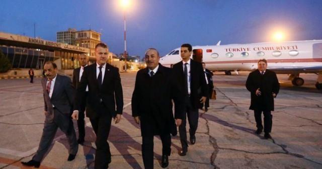 Dışişleri Bakanı Çavuşoğlu, Amman'da