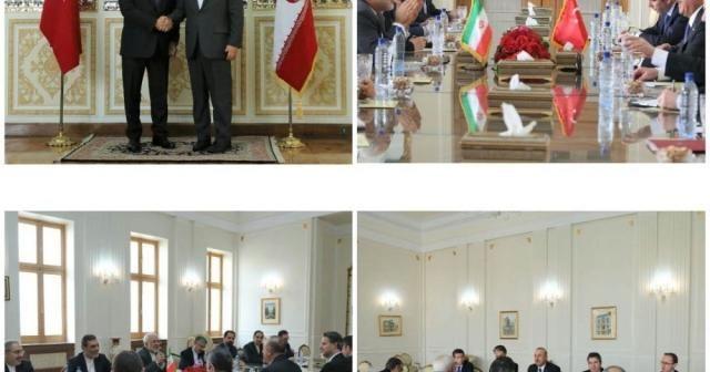 Dışişleri Bakanı Çavuşoğlu, İran'da mevkidaşıyla görüştü