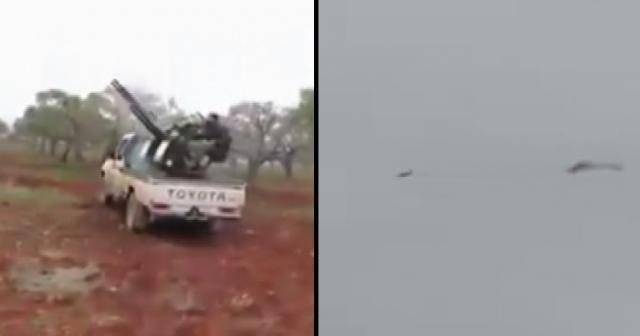 El-Nusra'nın Rus jetini düşürdüğü görüntüler ortaya çıktı