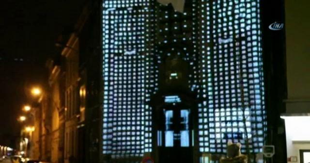 Gent sokakları ışık festivali ile aydınlandı