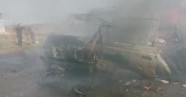 Halep'te hava saldırısı: 10 ölü