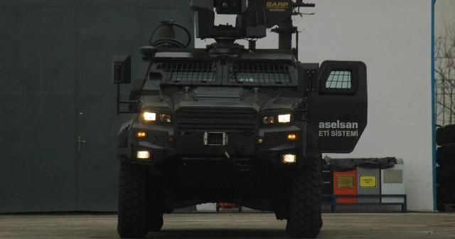 İnsansız zırhlı kara aracı 'Ejder Yalçın' göreve hazır
