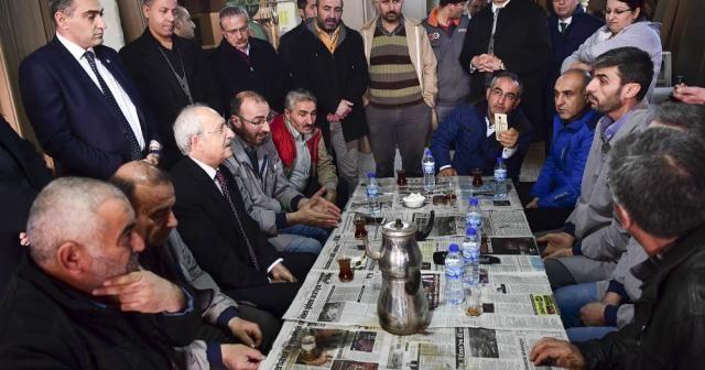 Kılıçdaroğlu'ndan Siteler'deki mobilya esnafına ziyaret