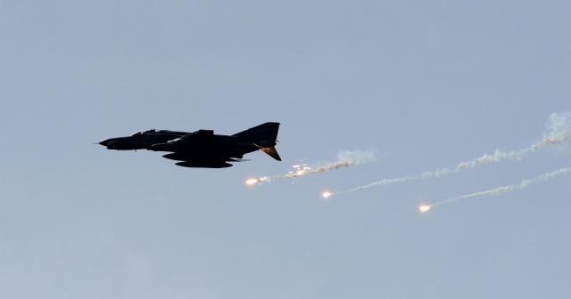 Kuzey Irak'taki 16 hedef tam isabetle vuruldu