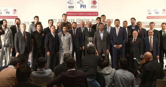 PTT Türkiye Kupası basın toplantısı yapıldı