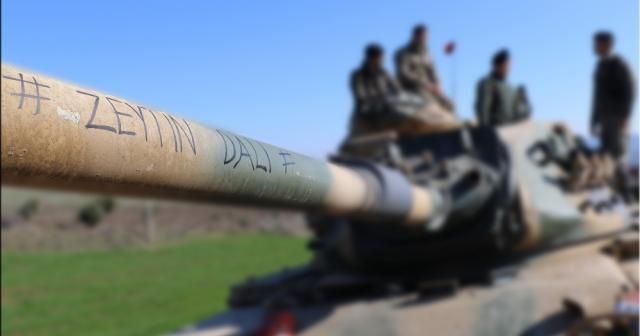"""TSK: """"Teröristlerin saldırısında bir tank isabet aldı"""""""
