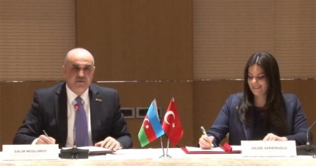 Türkiye ile Azerbaycan arasında sosyal güvenlik alanında iş birliği protokolü